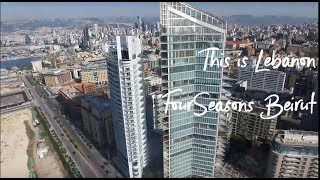 Four Seasons Beirut rooftop ambiance