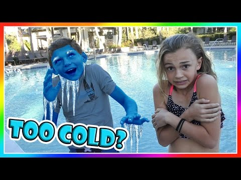 IS IT TOO COLD TO SWIM NOW? | We Are The Davises