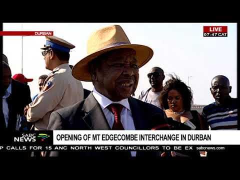 Minister Nzimande launches World-Class Mt. Edgecombe Interchange