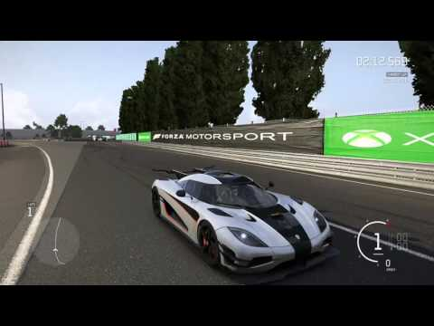 Forza Motorsport 6 - Koenigsegg One:1 - Test Drive and Top Speed (261 mph)
