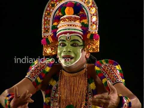 Garuda Garva Bhangam, a bit in Ottan Thullal