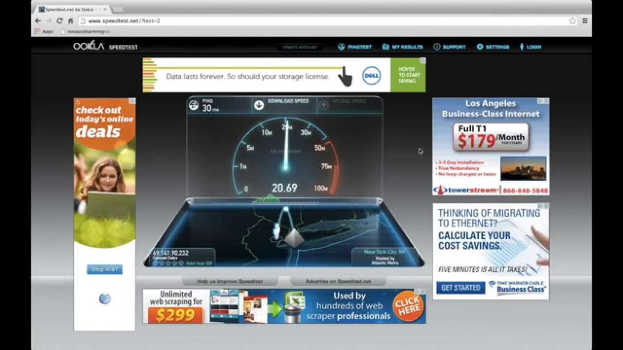 Mac vs PC Internet Speed test