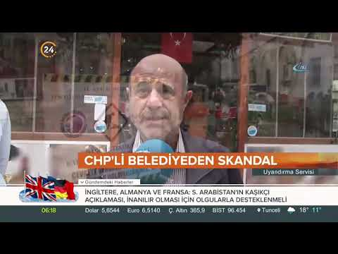 CHP'li belediye parke taşlarının üzerine asfalt döktü