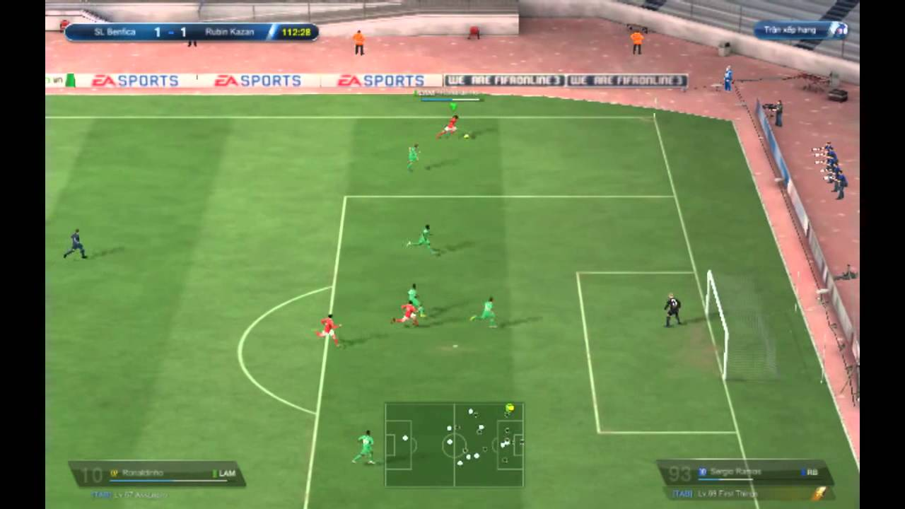 CROSSING AND ATTACKING HEADER TUTORIAL FIFA Online 3 King Of ...