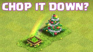 Clash Of Clans Christmas Gembox - Chop It Down? | Let's Learn A New Raid Strategy