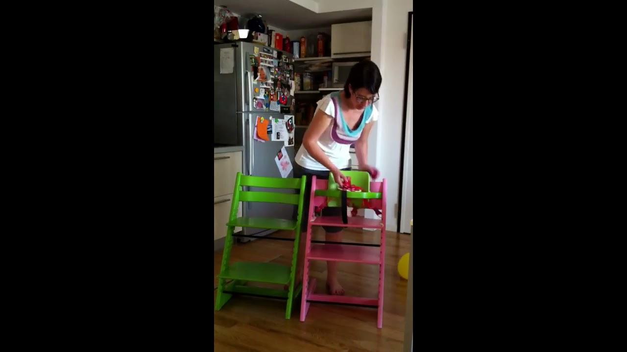 Il seggiolone sedia tripp trapp di stokke youtube for Sedia stokke tripp trapp usata