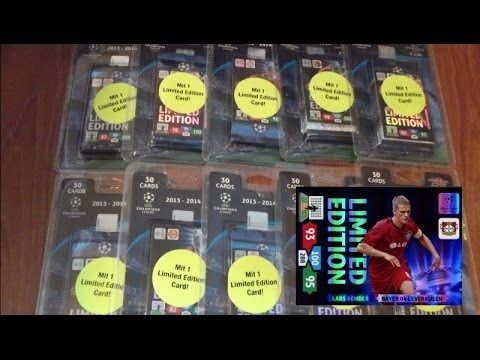 Lars BENDER Limited Edition BLISTER PACK panini ADRENALYN XL CHAMPIONS LEAGUE 2013-14 TCG