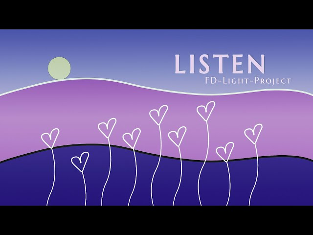 Listen, Feel, Blend, Act -  (Watch this when you're feeling down ) - FD-LIGHT-PROJECT