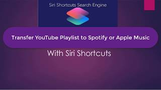 Convert YouTube Playlist to Spotify or Apple Music