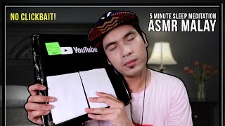ASMR MALAY: UNBOX SILVER PLAY BUTTON RELAXATION & CALM | FALL ASLEEP IN 60 SECONDS NO CLICKBAIT