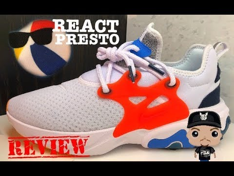 buy online e4b43 ee8a4 Nike React Presto Summer Thursday Beach Ball Sneaker Review   NikeReactPresto  Sneakerhead