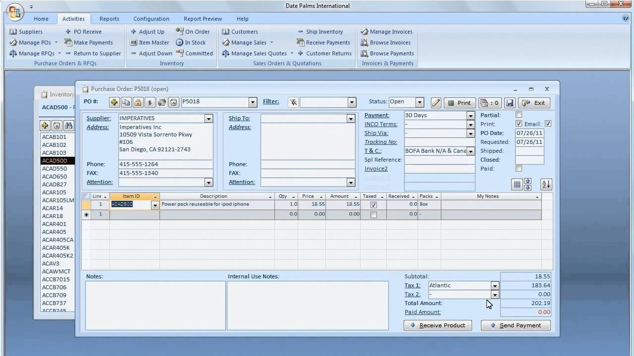 Inventory Software with Accounting  How to Manage Physical Inventory