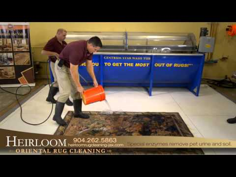 Heirloom Oriental Rug Cleaning| Jacksonville, FL | Trade Show Video