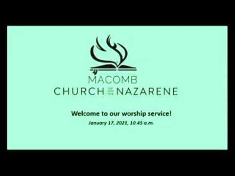 Sunday Worship - January 17, 2021