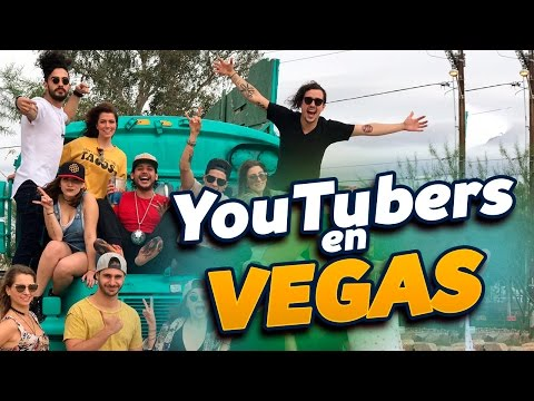 YOUTUBERS EN VEGAS - Nath Campos