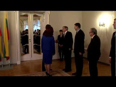 Solvita Āboltiņa tiekas ar Lietuvas Republikas Ministru prezidentu