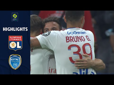 Lyon Troyes Goals And Highlights