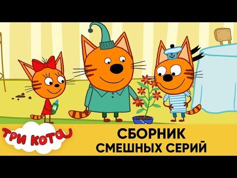 Три Кота   Сборник смешных серий   Мультфильмы для детей 2020 - Видео онлайн