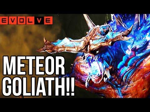 METEOR GOLIATH!! Evolve Gameplay Walkthrough - Multiplayer!! (XB1 1080p HD)