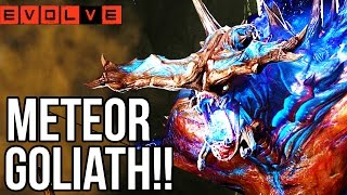 METEOR GOLIATH!! Evolve Gameplay Walkthrough - Multiplayer!! (XB1 1080p HD)