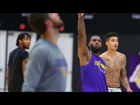 My thoughts on Lebron James first Lakers workout - 동영상
