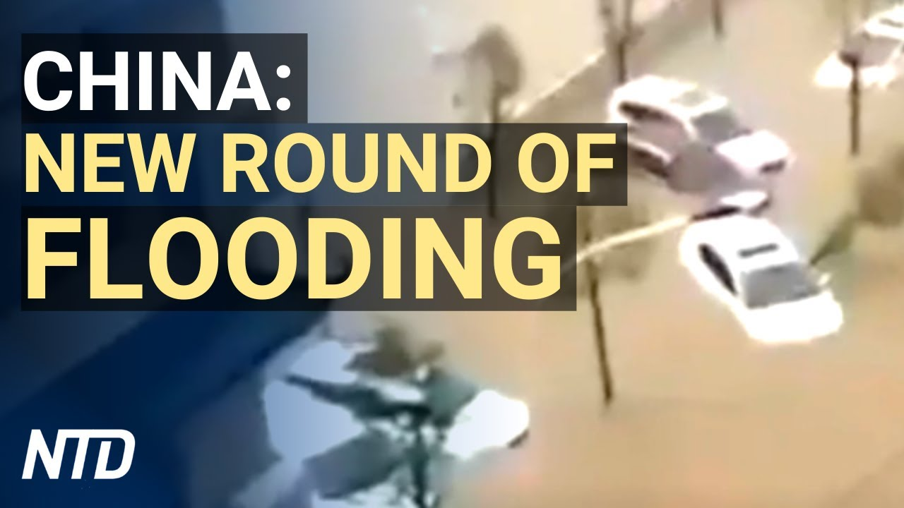 New round of flooding emerges in China, earthquake hits Three Gorges Dam upstream | NTD