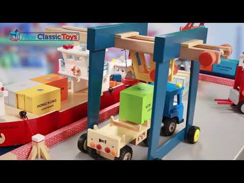 New Classic Toys - Harbor Line stop motion