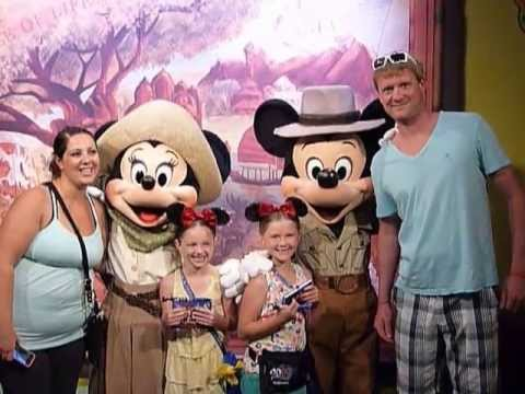 Meeting Mickey Amp Minnie At Disney World 6 2013 Youtube