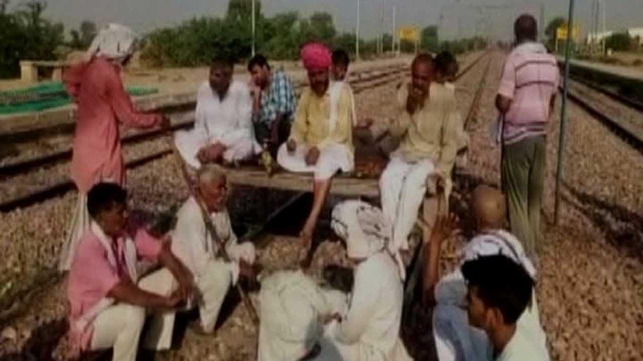 Jat Reservation: Protestors block Alwar-Mathura rail route