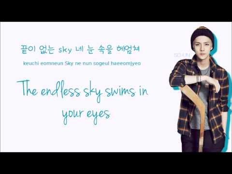 EXO - Love, Love, Love (Acoustic Ver.) (Color coded Lyrics: Han/Rom/Eng)
