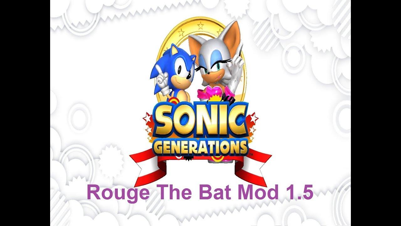 Sonic Generations Mod - Rouge Mod Version 1.5 Release ( UNSTABLE ...