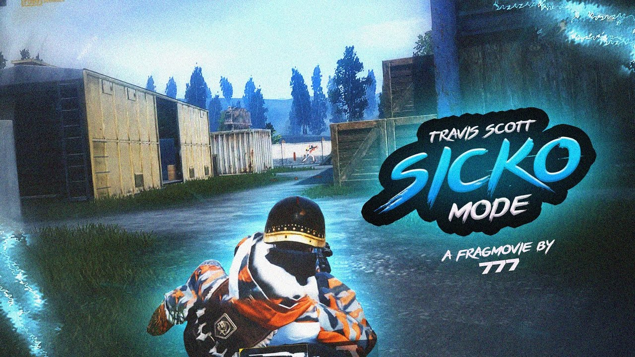 Travis Scott - SICKO MODE  | A PUBGM FragMovie | By - 7 7 7
