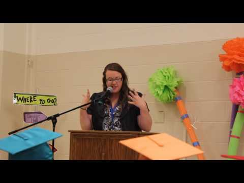 Ms. Geach's Kindergarten Graduation Speech