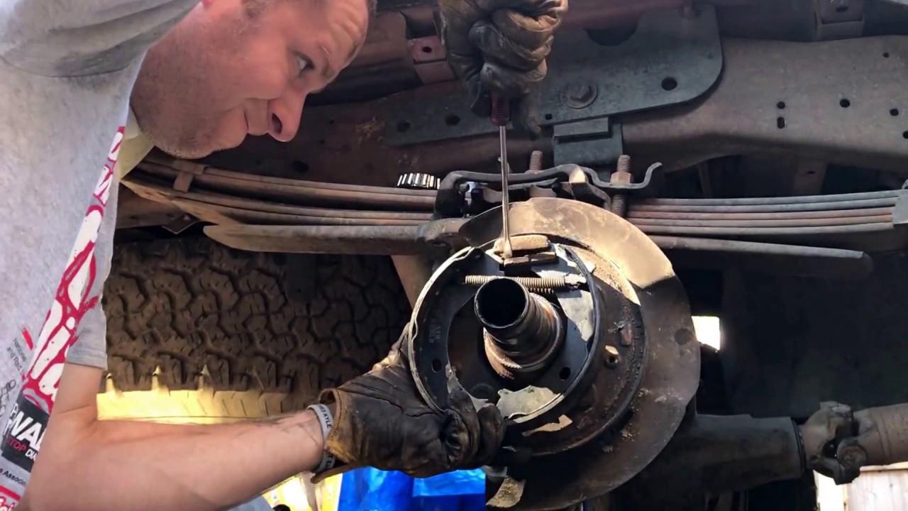 1999 F350 Parking Break Repair - Part 2, Remove and ...
