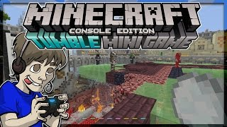 Minecraft PS4 - Tumble Mini Game Mode Gameplay W/ YouTubers