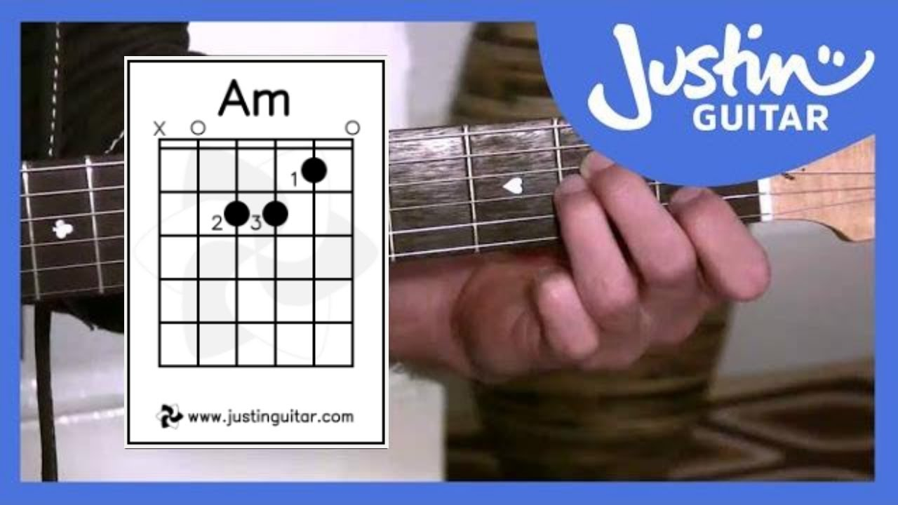 The A Minor Chord Guitar Lessons For Beginners Stage 2 Guitar