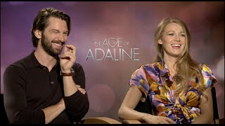 THE AGE OF ADALINE Interviews - Blake Lively, Michiel Huisman, Lee Tolan Krieger