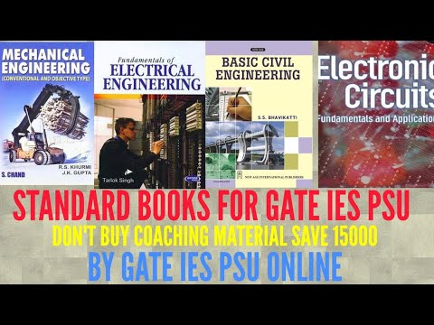 TECHNICAL BOOKS REFERENCE BOOKS FOR GATE IES PSU FOR CIVIL