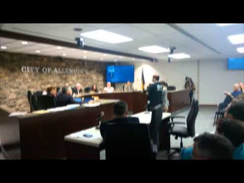 The Freedom Paradox Founder Addresses Allentown City Council