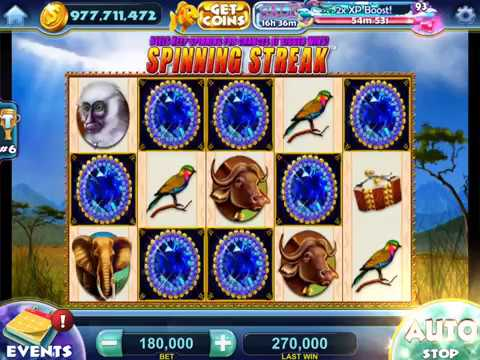 JEWELS OF AFRICA Video Slot Casino Game with an