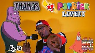 Thanos vs Patrick Live - Cartoon Beatbox Battles