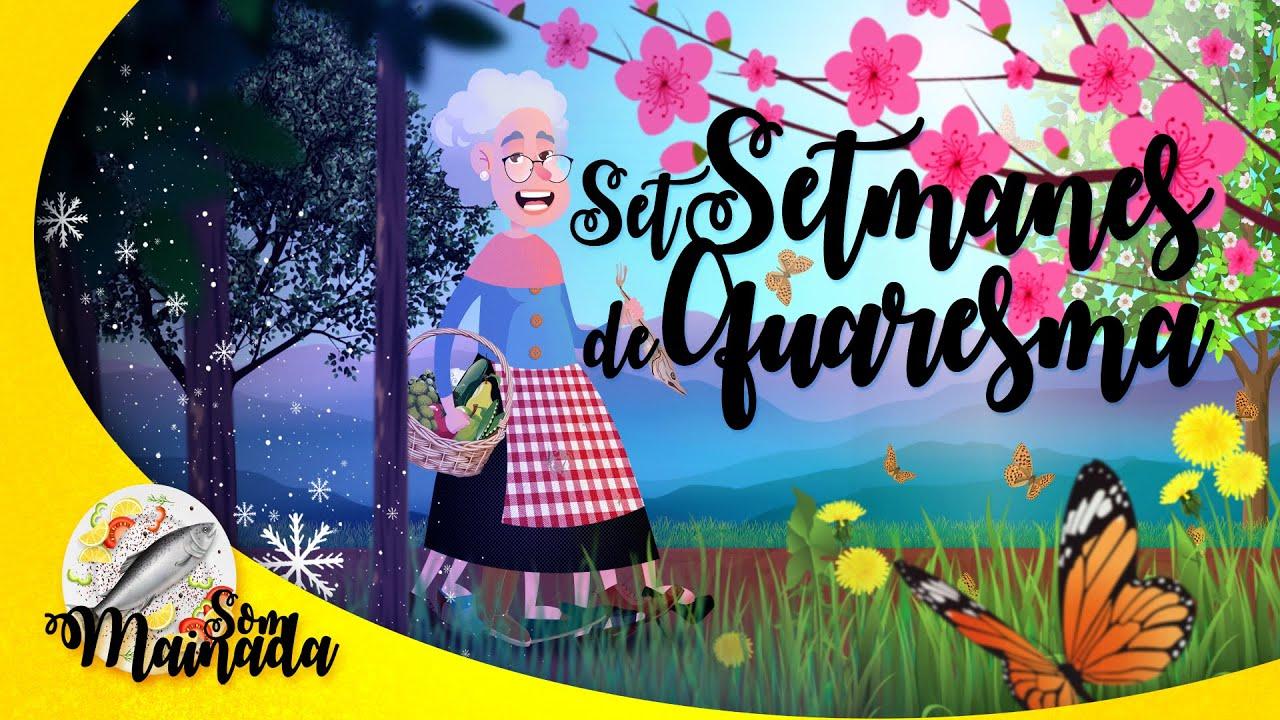 SET SETMANES DE QUARESMA❄️🌸 | Són set setmanes d'espera perquè arribi la primavera! ♪♫♬
