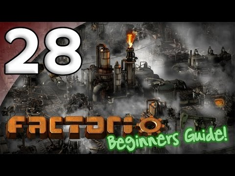 Factorio Beginner's Guide - 28. Rocket Launch - Let's Play Factorio Gameplay