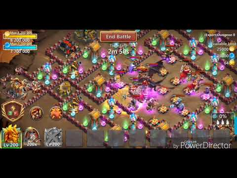 Castle Clash | Rowdy Rascals 4/5 Holy Conviction (8/9 Zealous Drive - 8 Sacred Light)