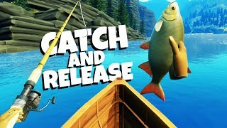 Catching MONSTER FISH in Virtual Reality - Catch and Release VR Gameplay