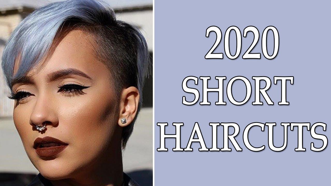 Short Haircuts 2020 - YouTube