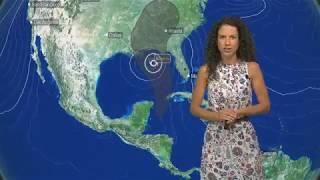 Tropical Storm Alberto raast op zuidkust V.S. af