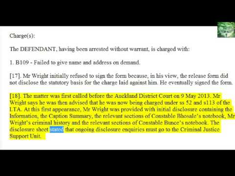 NZ Case Law - Wright v Bhosale Police and Attorney General (excl law points)