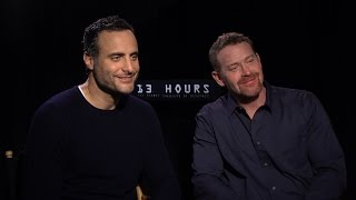 Max Martini and Dominic Fumusa on '13 Hours' and Playing Real Life Heroes