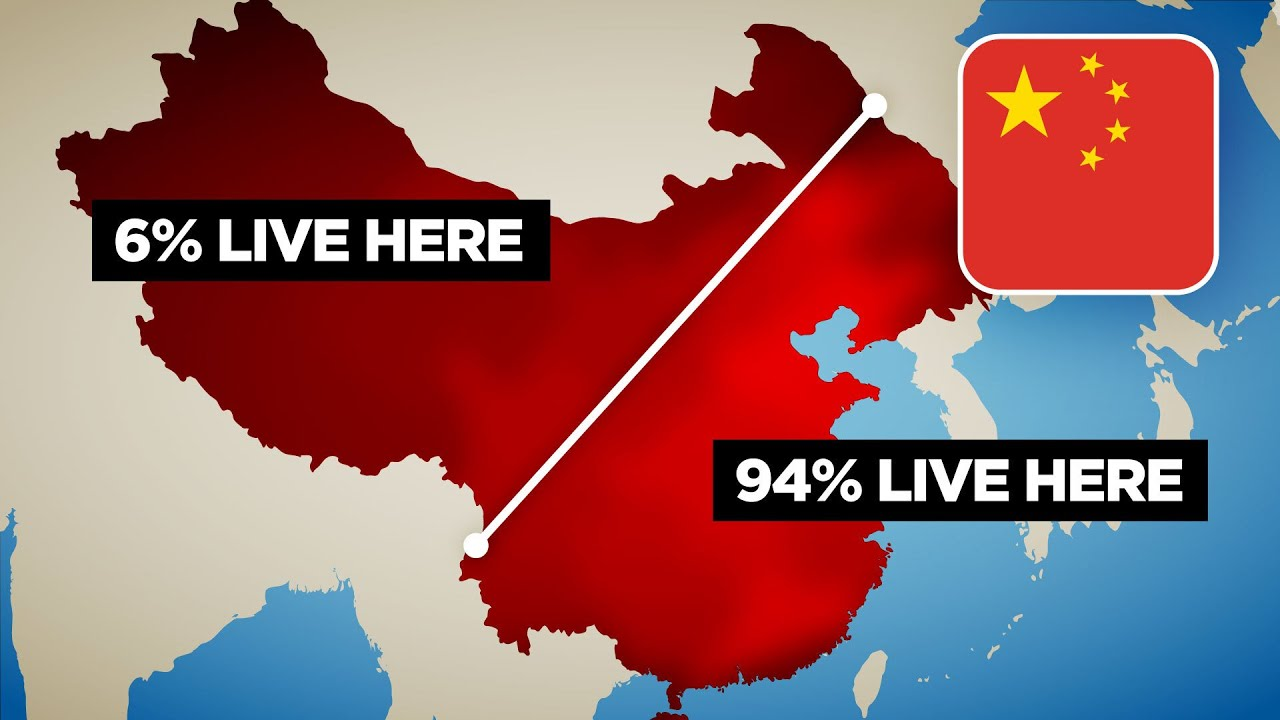 Download Why 94% of China Lives East of This Line